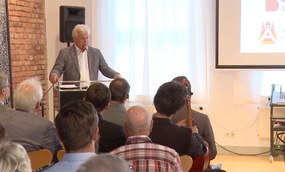 Dr. Josef Wolf zu 25 Jahren Akademie Schwerin